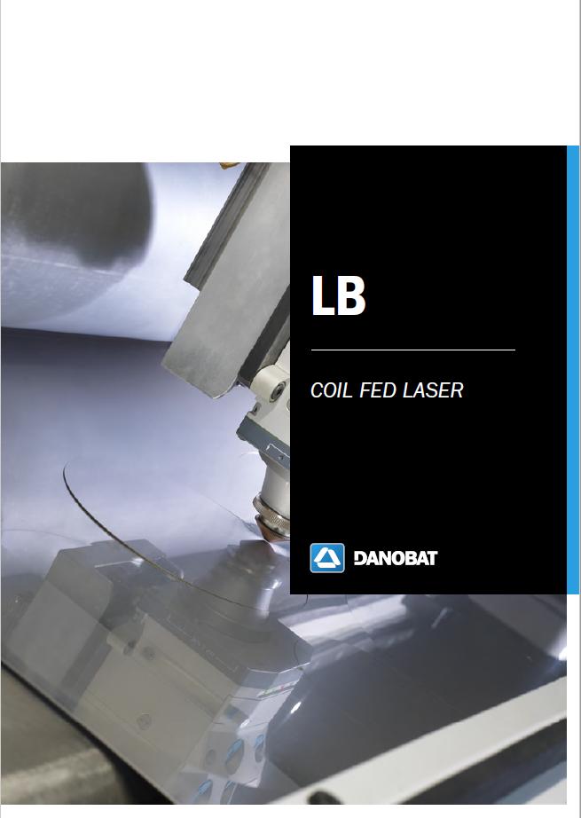 LB Laserschneidmaschine vom coil DANOBAT
