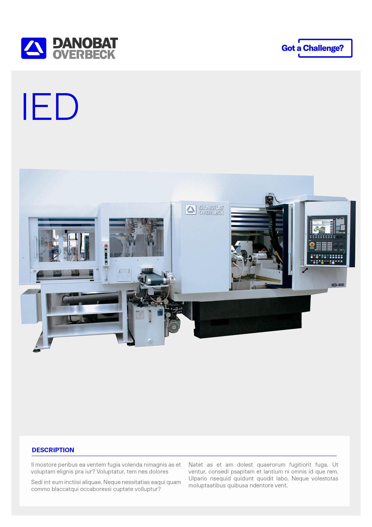 Simultaneous internal & external grinding machine