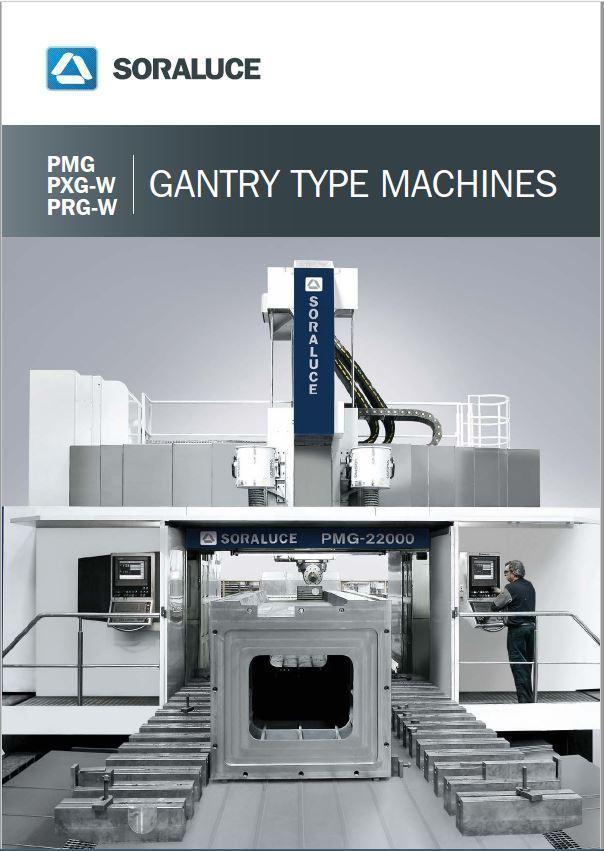 PM / PMG / PRG-W / PXG-W Portal gantry milling boring machines SORALUCE