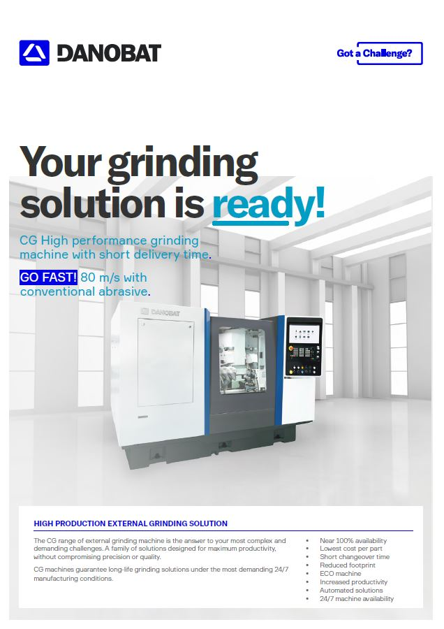 HIGH PRODUCTION GRINDING SOLUTIONS