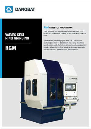 RGM Valves Seat Ring Grinding DANOBAT