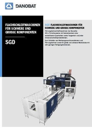 SG Flachschleifmaschinen DANOBAT