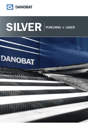Штамповочный станок с функцией лазерной резки серии SILVER от компании DANOBAT