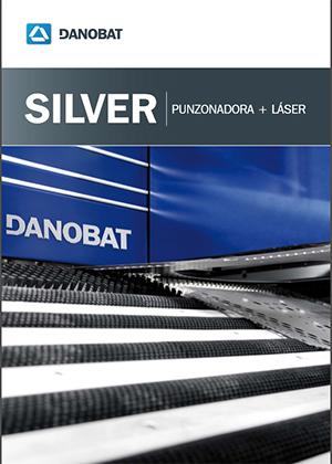 SILVER puntzonatzeko makina laserrarekin DANOBAT