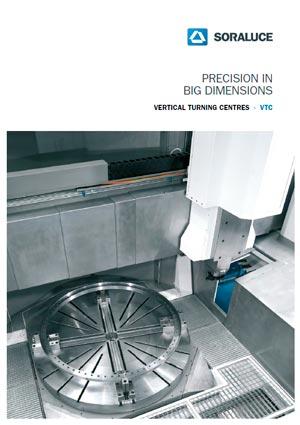 VTC-H Big dimensions vertical lathe SORALUCE