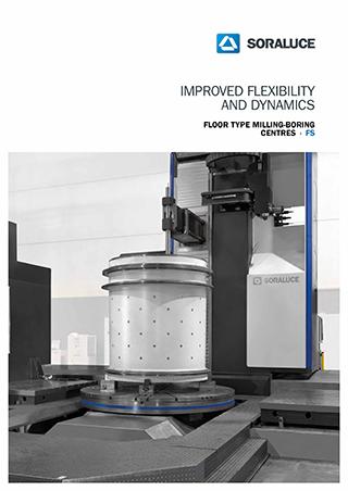 SORALUCE FS Floor type milling boring centre