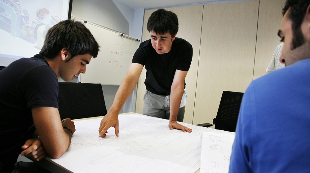 Этап разработки концепции проекта компании DANOBATGROUP